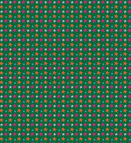 green-vibrant-star-vector-pattern