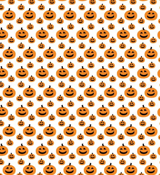 pumkinp-orange-pattern