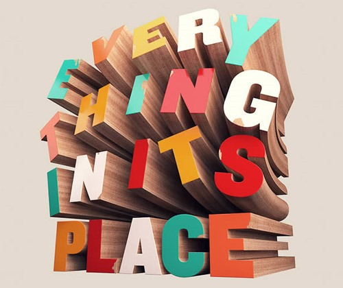 wooden text thumb 80 best Photoshop tutorials from 2013