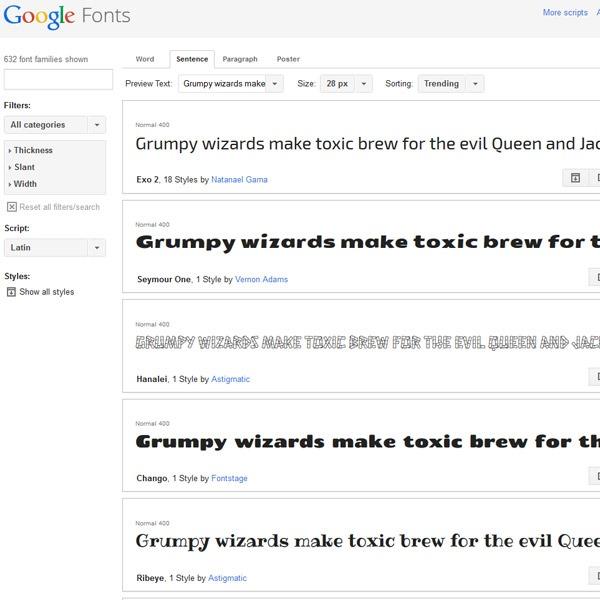 google-webfonts