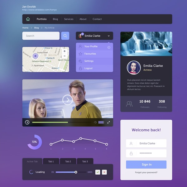 purple-ui-kit