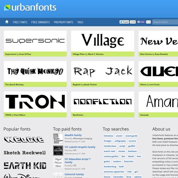 urban-fonts