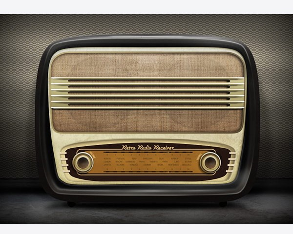 radio-illustration