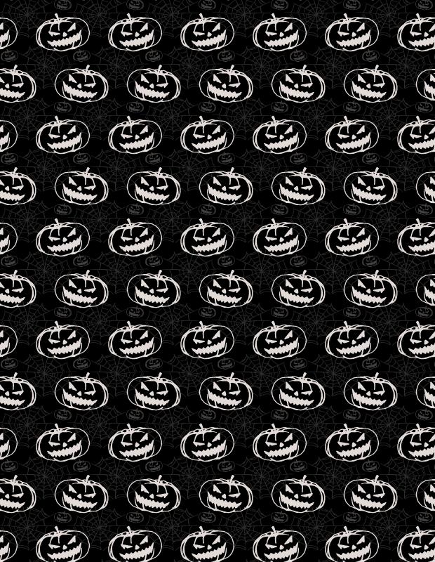 black-pumkin-pattern
