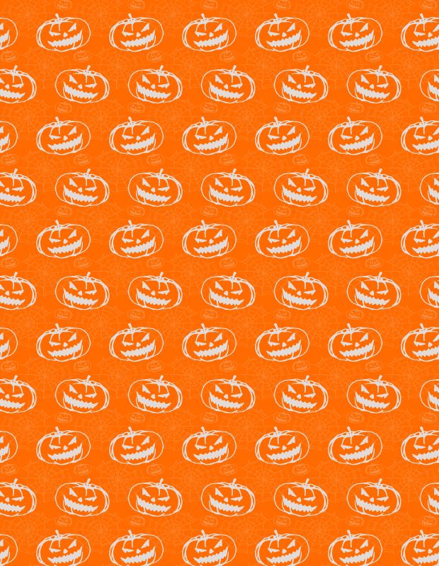 orange-pumkin-pattern