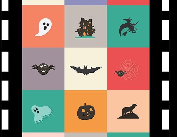 halloween-flat-icons