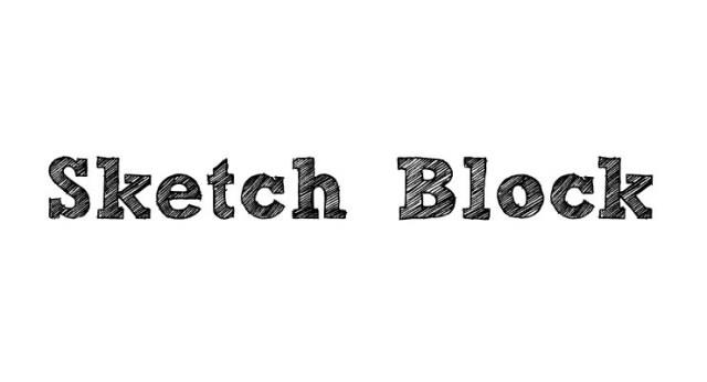 sketch-block