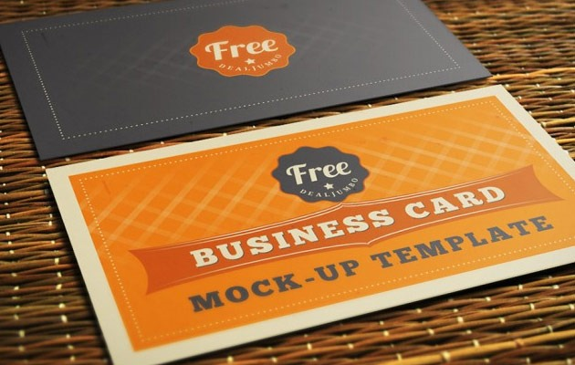 orange-business-card