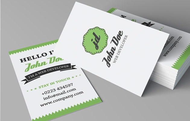 retro-business-card