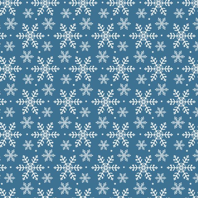 dark-blue-snowflake-pattern