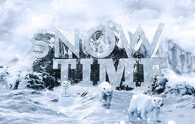 snow-text