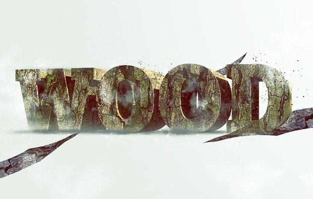 wood-text