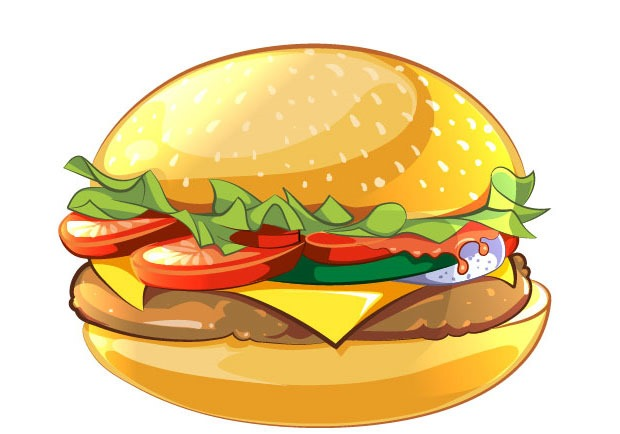 vector-burger