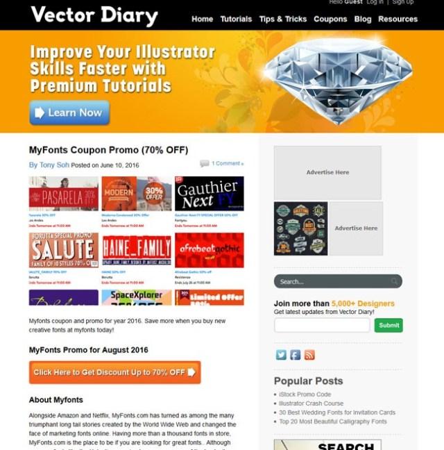 vector-diary