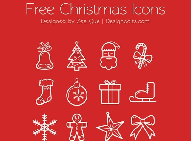 beautfil-christmas-icons