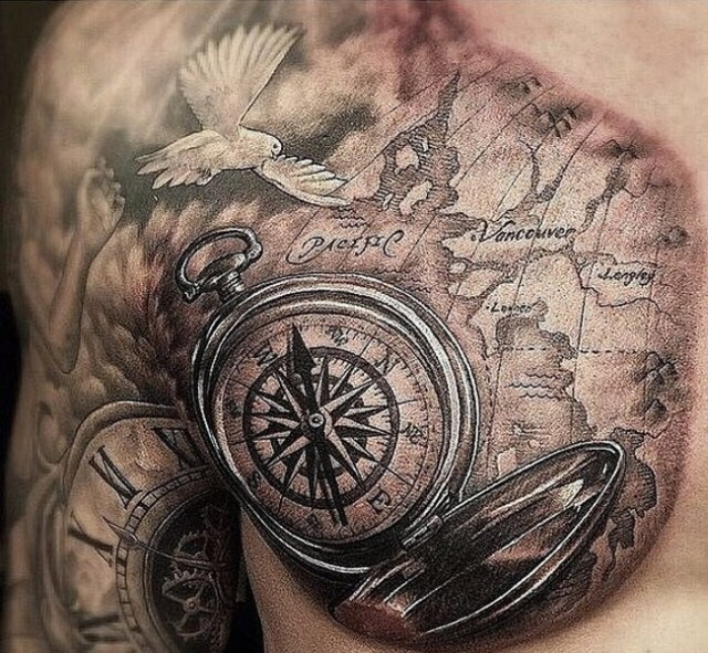 35 Mind Blowing Realistic Tattoo Designs Creative Nerds