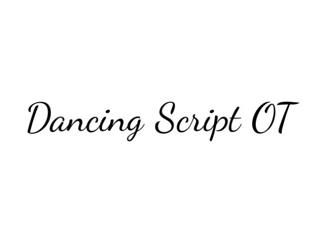 dancing-script