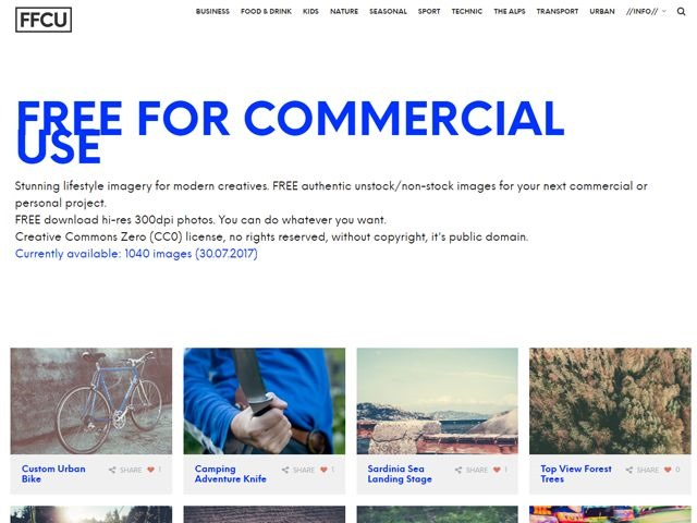 20 stock photography websites free for commercial use