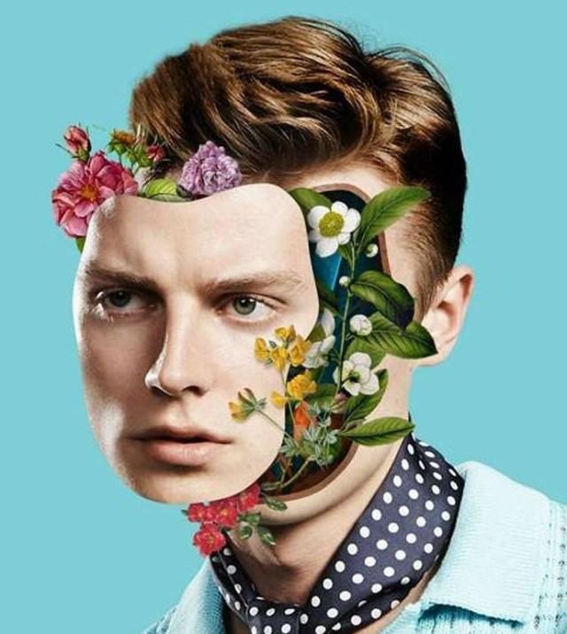 man-face