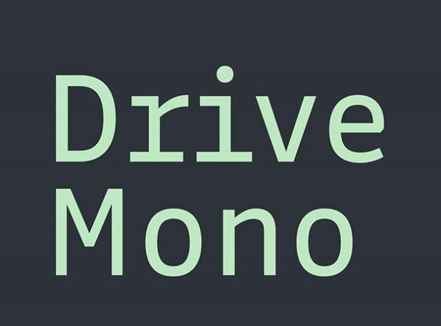 drive-mono