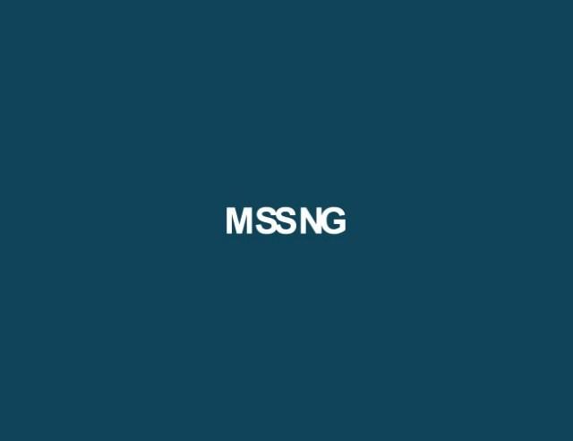misssing