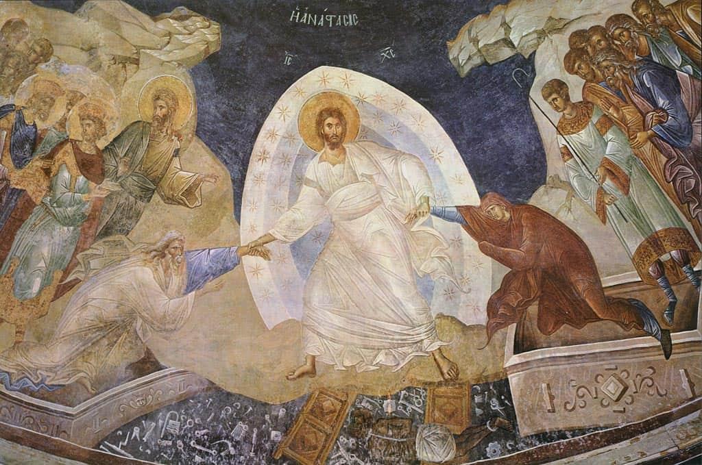 Harrowing of Hades (Chora) Icon