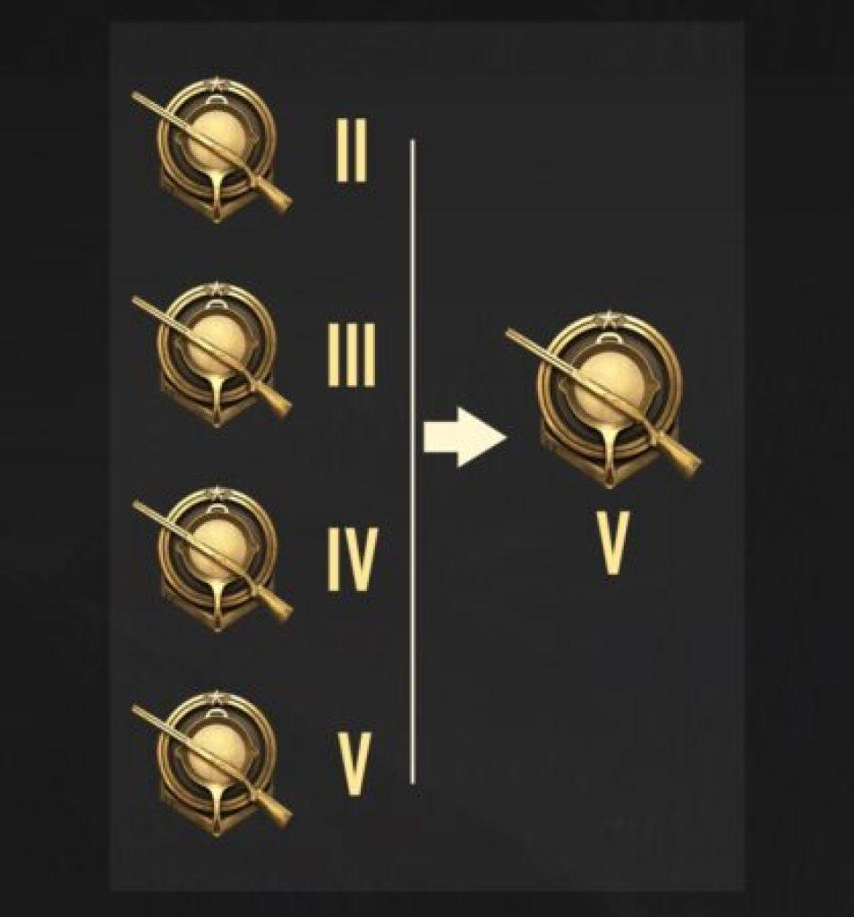Gold tier drop