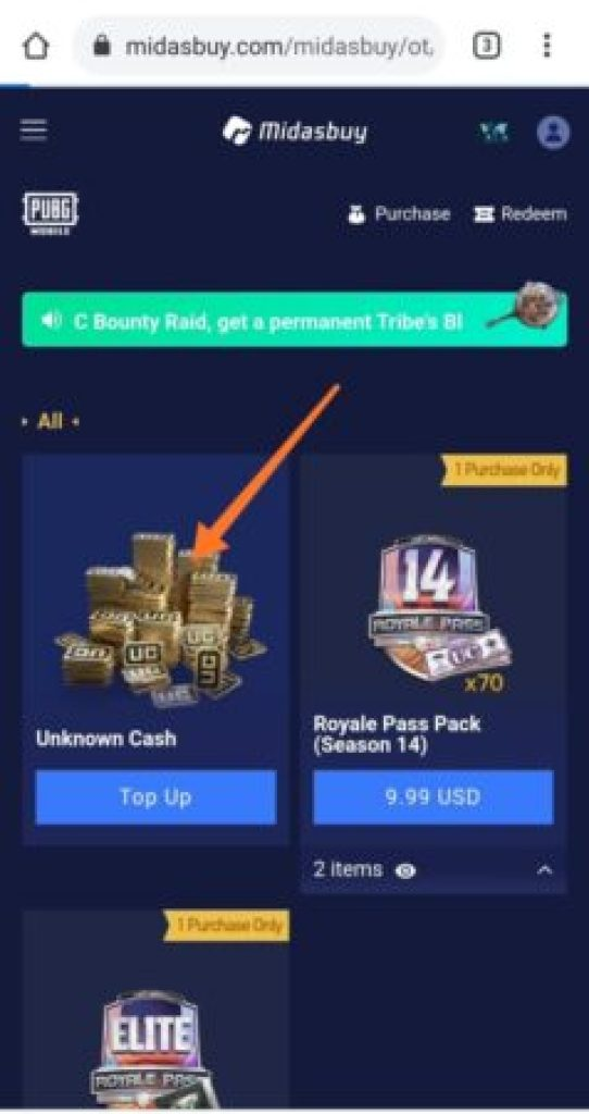 Step 12 But Uc pubg mobile