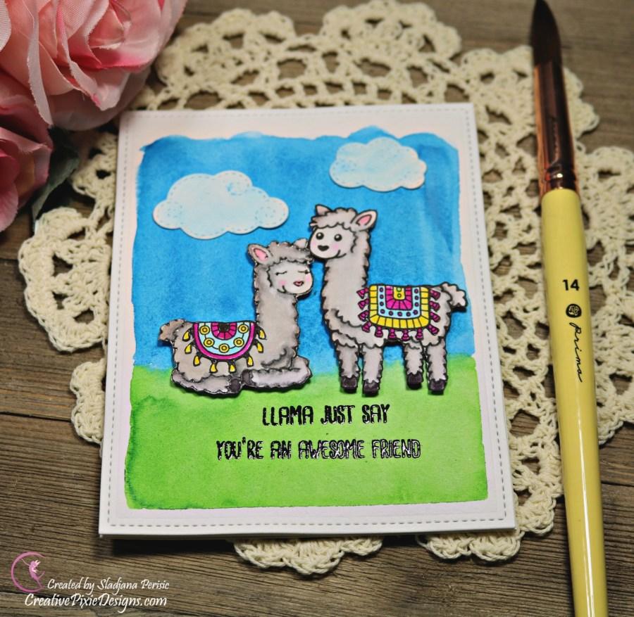 SugarPea Llama Just Say