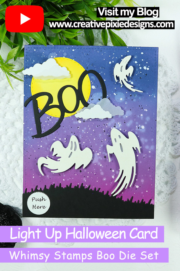Whimsy Stamps Boo Die Set