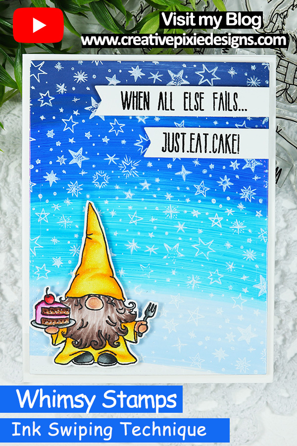 Whimsy Stamps Gnome Birthday