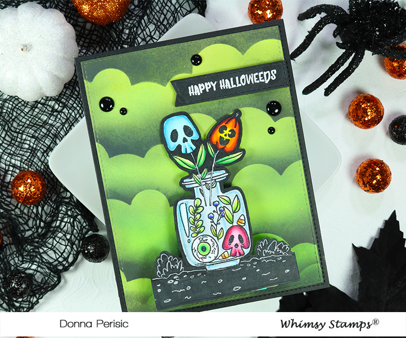 Whimsy Stamps Halloweeds