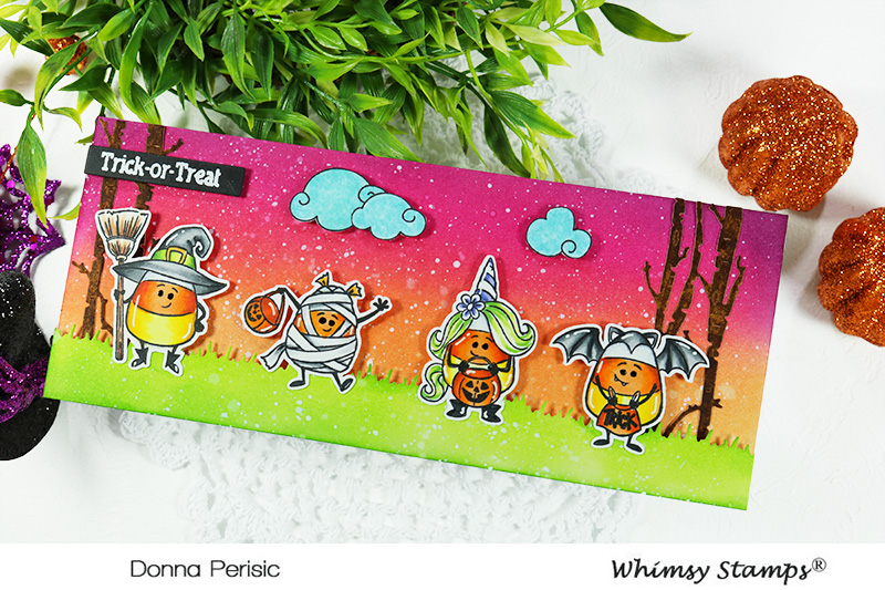 Whimsy Stamps Candy Corn Dress Up