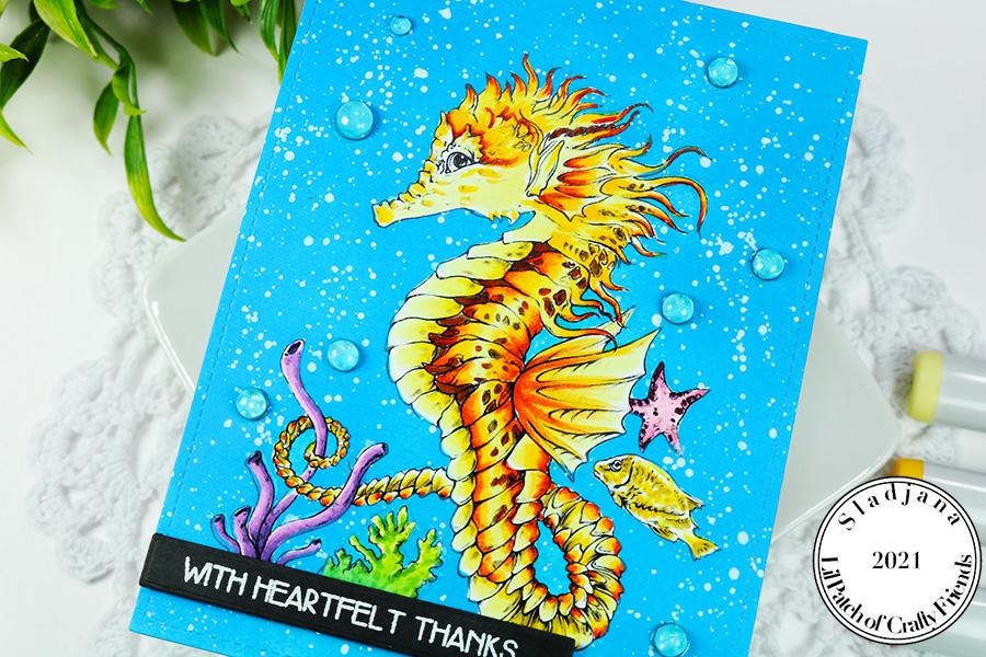 Fabrika Fantasy Beautiful Seahorse