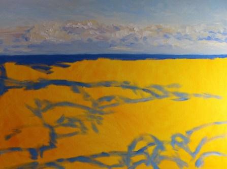 Winter 18 x 24 inch walnut oil on canvas in progress 1 by Terrill Welch 2015_11_03 002