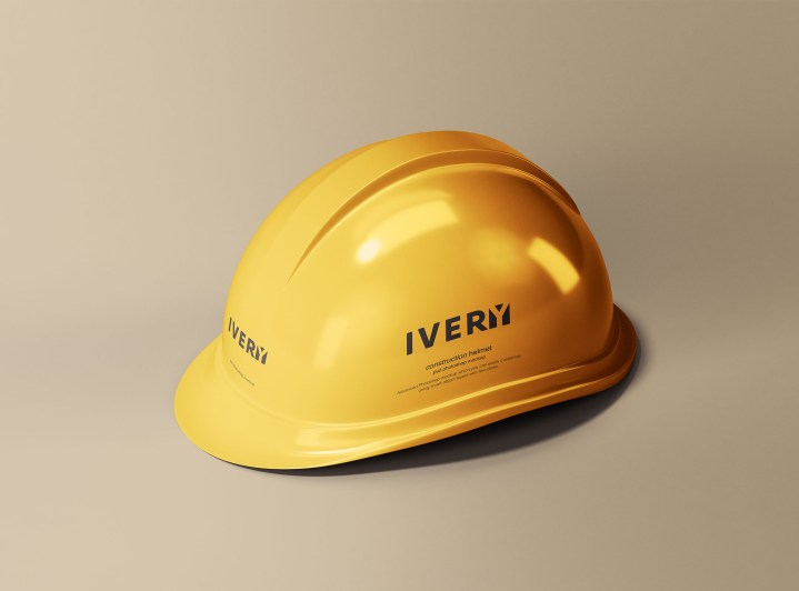 Construction Helmet Mockup