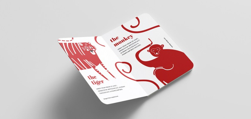 Free PSD Children Hard Cover Book Mockup