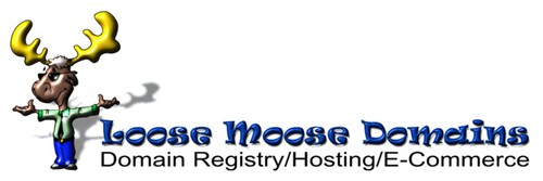 logo design-loose moose domains 5