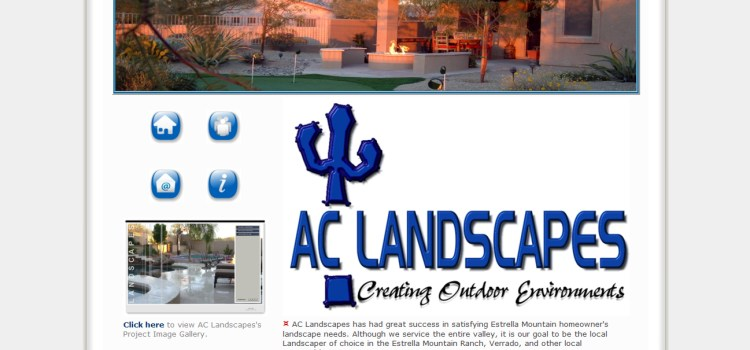 Website Design-AC Landscapes