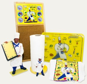 Polyresin Chef Set