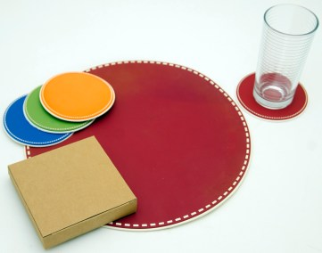 Rubber Placemats & Coasters