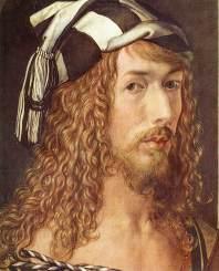 durer, autoritratto a 26-dett, 1498, Madrid, Museo del Prado