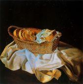 cesta di pane, 1926, san pietroburgo, museo dalì