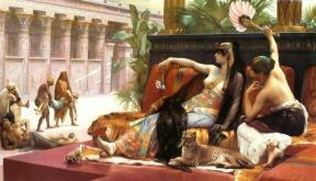 Cleopatra la regina
