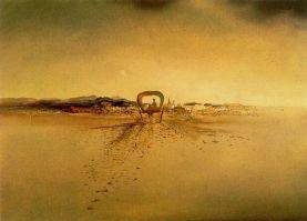 dalì, il carro fantasma, 1933, ginevra, collezione G.E.D. Nahmad