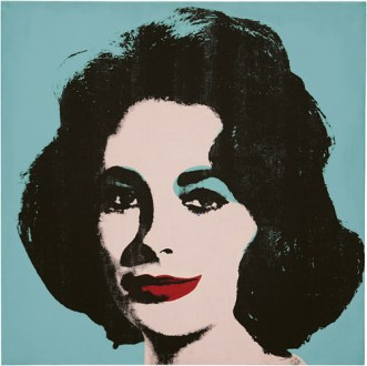 Liz #5 (Early Colored Liz), 1963, Courtesy The Brant Foundation, Greenwich, CT, USA
