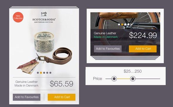 Online Store UI Kit