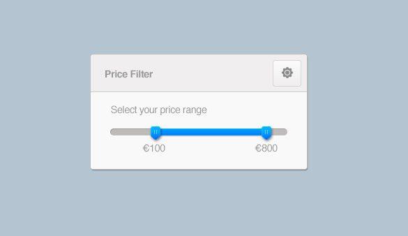 Price Range UI
