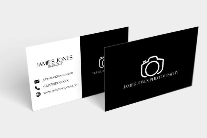 Free Handmade Creative Photography Business Card