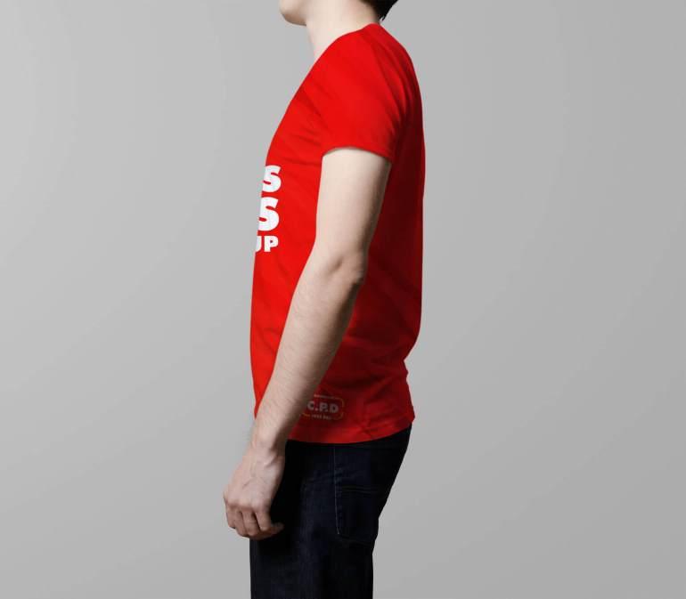 side tshirt mockup psd, side t shirt mmockup, V-Neck Male T-Shirt Mockup Free Psd